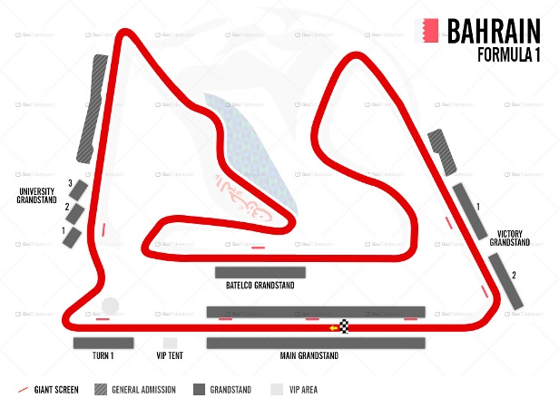 Bahrain F1 Grand Prix Ticket and Travel Packages