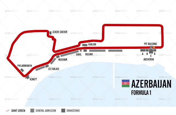 Azerbaijan F1 Grand Prix Ticket and Travel Packages