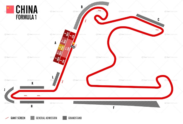 Chinese F1 Grand Prix Ticket and Travel Packages