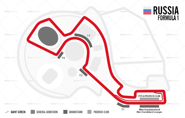 Russian F1 Grand Prix Ticket and Travel Packages