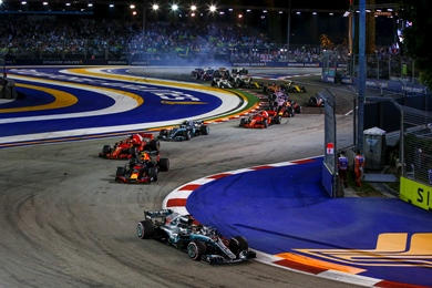 Singapore GP Packages and Tickets