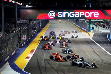 Singapore Grand Prix Travel & Ticket Packages